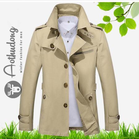 phối đồ với áo khoác dài nam