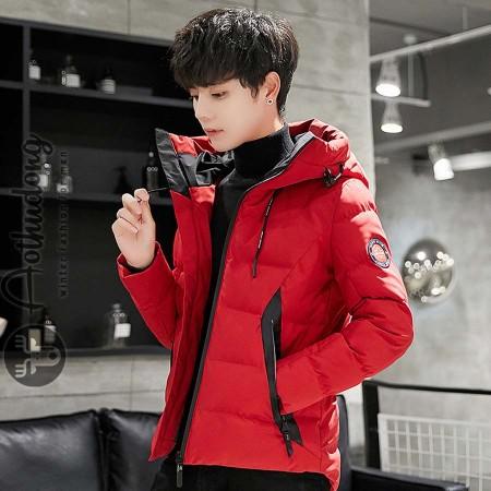 Áo phao nam đỏ chất dày đẹp