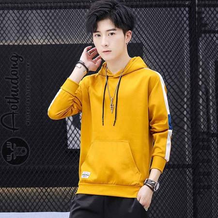 Áo thu đông hoodie nam vàng